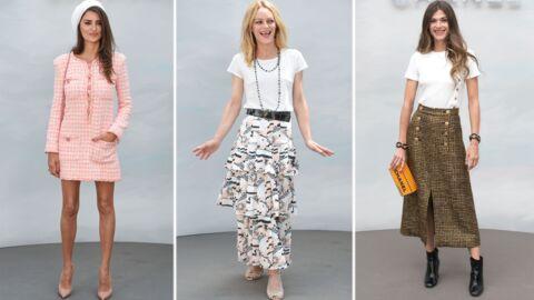 PHOTOS Défilé Chanel: Vanessa Paradis, première sortie de jeune mariée au bras de Lily-Rose Depp