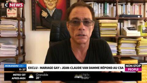 VIDEO Jean-Claude Van Damme répond au CSA et à sa polémique homophobe: «Je vous emmerde»