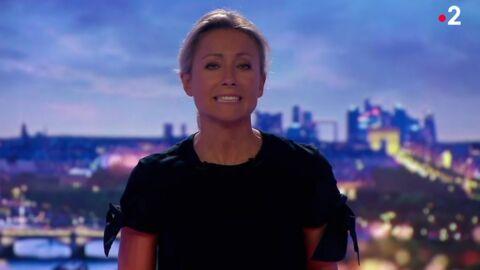 VIDEO Malaise au JT: Anne-Sophie Lapix commence son 20 heures d'une drôle de façon sur France 2