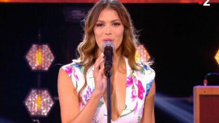 VIDÉO Iris Mittenaere se lance dans la chanson: découvrez sa première performance entourée de Miss