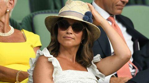 PHOTOS Pippa Middleton enceinte: elle dévoile son baby bump à Wimbledon