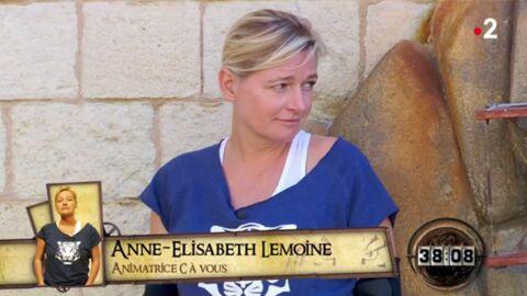 VIDEO Anne-Elisabeth Lemoine: les internautes agacés par ses abandons dans Fort Boyard
