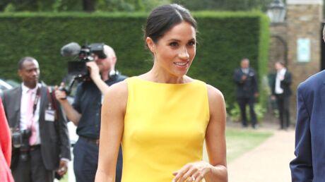 Comme Meghan Markle, on craque pour la robe jaune!