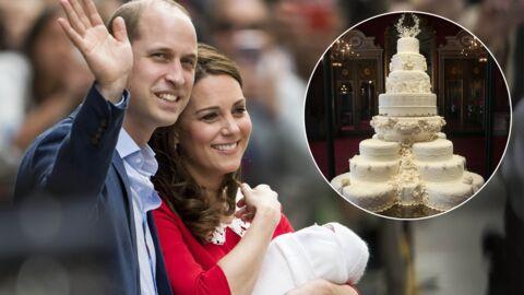 Comment a été conservé le gâteau de mariage de Kate et William servi au baptême du prince Louis?