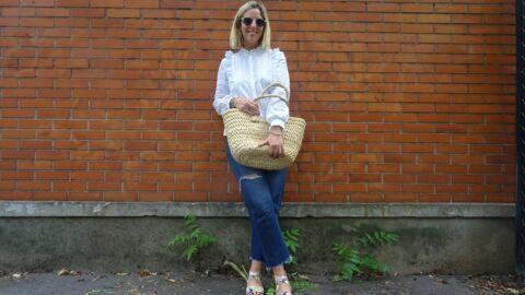 Comment porter le panier à la Jane Birkin cet été?