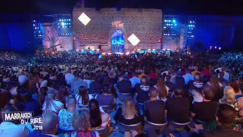 Jamel Debbouze: accusé d'avoir gonflé son public au montage, le Marrakech du rire s'explique
