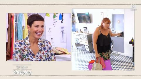 VIDEO Les Reines du shopping : une candidate, trop fan de Shy'm, rend dingue Cristina Cordula