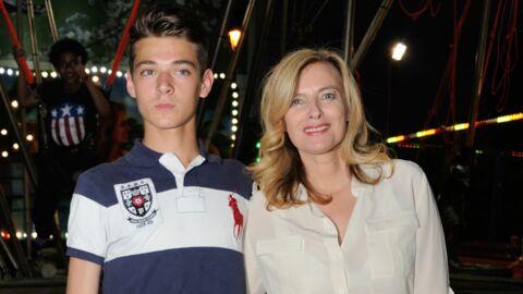 PHOTOS Valérie Trierweiler: son fils Léonard prend la pose comme un mannequin
