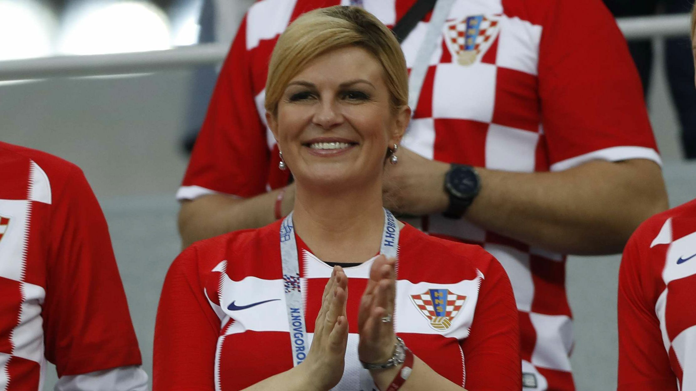 Mondial  Qui Est Kolinda Grabar Kitarovic La Presidente Croate Voici