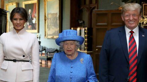 Donald Trump: son comportement «inadapté» lors de sa rencontre avec la reine Elizabeth II