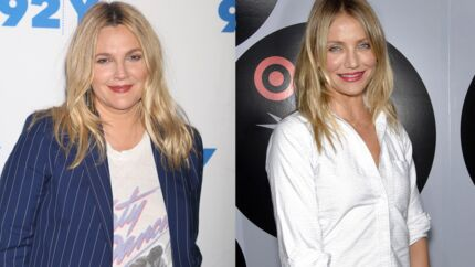 PHOTO Cameron Diaz et Drew Barrymore s'affichent au naturel dans un selfie