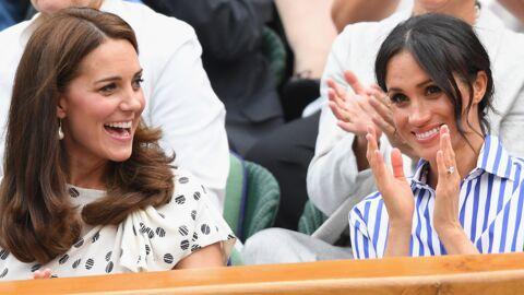 PHOTOS Kate Middleton et Meghan Markle très complices pour leur première sortie officielle à Wimbledon