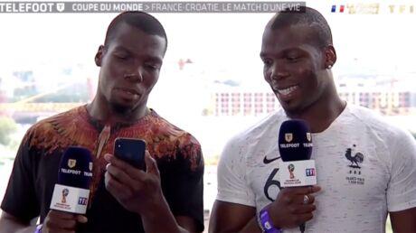Mondial 2018: les frères de Paul Pogba l'appellent en plein direct à la télévision avant la finale