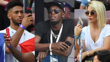 PHOTOS Mondial 2018: Tony Yoka, Usain Bolt et les femmes des joueurs: découvrez qui a fait le déplacement pour soutenir les Bleus
