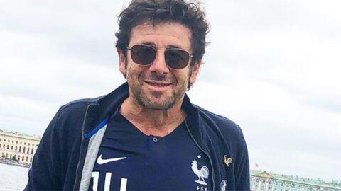 PHOTO Mondial 2018: quand Patrick Bruel tombe sur un joueur de l'équipe de France en sortant de l'ascenseur