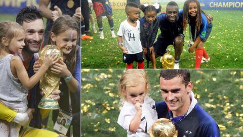 PHOTOS Mondial 2018: Lloris, Griezmann, Matuidi avec leurs enfants, Pogba dab avec sa maman