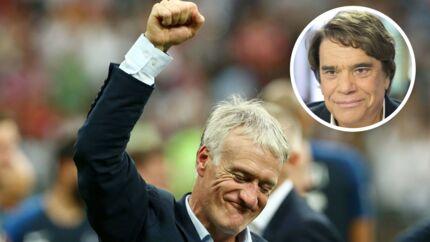 Victoire des Bleus: les mots bouleversants de Didier Deschamps à Bernard Tapie