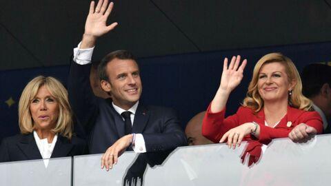 Mondial 2018: Brigitte Macron fête la victoire des Bleus en coulisses, entourée de séduisants messieurs