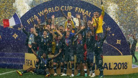 Mondial 2018: les coulisses des vestiaires après la victoire des Bleus