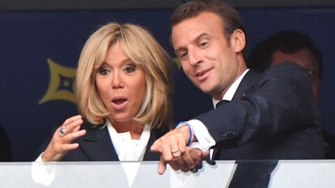 Mondial 2018: pourquoi Brigitte Macron a failli ne pas fêter la victoire des Bleus près du Président