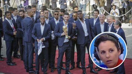 """Victoire des Bleus: """"stupéfaite"""" par l'attitude des joueurs, Faustine Bollaert les recadre"""