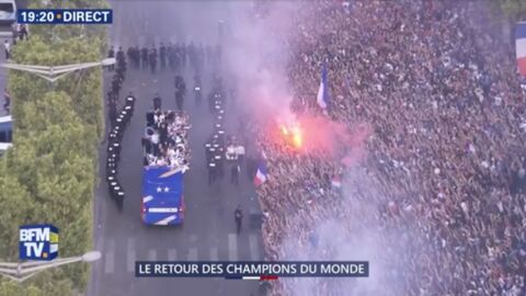 VIDEO Mondial 2018: pourquoi la parade des Bleus sur les Champs-Elysées a mis les supporters en colère?