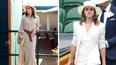 Emma Watson, grande gagnante du style à Wimbledon