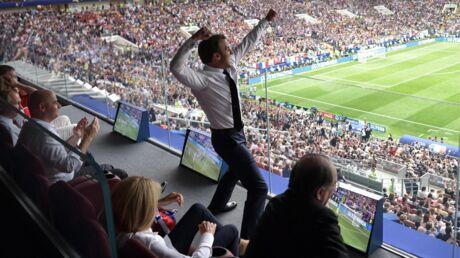 Emmanuel Macron fou de joie dans les tribunes: pourquoi cette photo n'aurait jamais dû exister