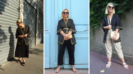 Comment porter le kimono? Voici 3 exemples concrets grâce au défi de Virginie