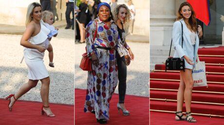 PHOTOS Les Bleus à l'Elysée: qui sont les membres de leurs familles à avoir été reçus par les Macron?