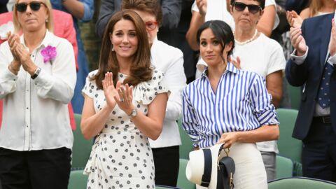 Voilà pourquoi Meghan Markle n'a pas eu le droit de porter son chapeau dans les tribunes de Wimbledon