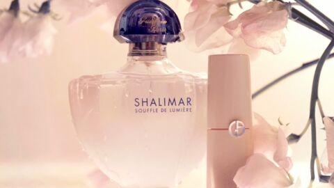 Nos beauty crushs: le Parfum Souffle de Lumière Guerlain et le A-Contour Armani
