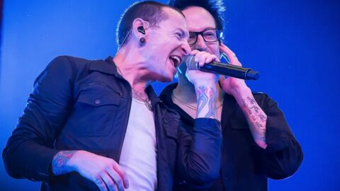 PHOTOS Linkin Park rend un vibrant hommage à son chanteur Chester Bennington, un an après sa mort