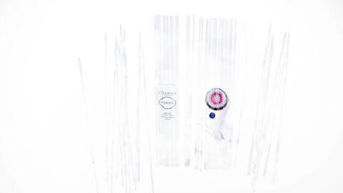 Nos beauty crushs: la Mousse Lumière Reine Blanche L'Occitane et la Brosse électrique Nivea Pure Skin