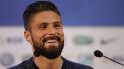 Mondial 2018 Olivier Giroud a tenu son pari: le footballeur a changé de tête