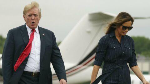Donald Trump: ce qu'il a trouvé dans l'avion de sa femme Melania l'a mis hors de lui