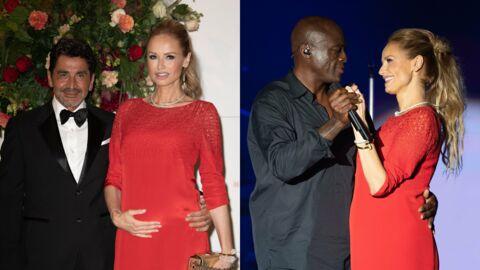 PHOTOS Adriana Karembeu: enceinte, elle partage une danse collée-serrée avec Seal au gala de la Croix-Rouge de Monaco