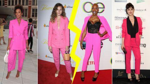 Les do et les don'ts de la semaine: le costume pantalon rose