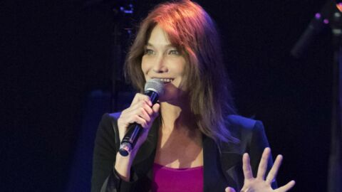 Carla Bruni: comme elle, sa fille Giulia «aime déjà beaucoup chanter»
