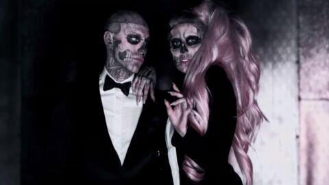 Lady Gaga pleure la mort à 32 ans de Zombie Boy, le mannequin tatoué de son clip Born This Way