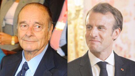 Quand Emmanuel Macron met la honte à Jacques Chirac devant Theresa May