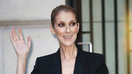 PHOTO Quand Céline Dion raccommode elle-même ses bas troués… sans les enlever