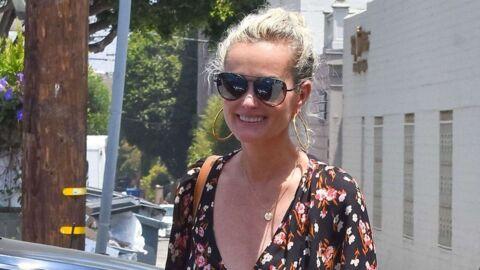 Laeticia Hallyday apparaît tout sourire et en bikini à Saint Barth
