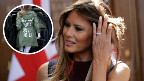 Melania Trump : l'autre message caché de sa veste « I really don't care »
