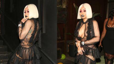 PHOTOS Blac Chyna montre TOUT dans un look beaucoup trop transparent