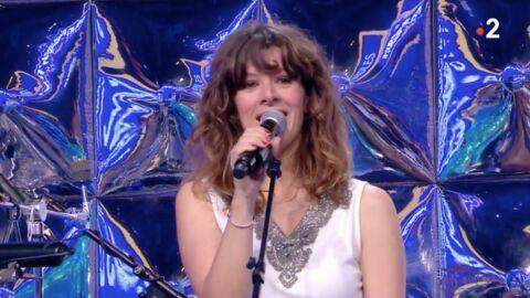 VIDEO Nagui complimente Magali Ripoll, la choriste de N'oubliez pas les paroles qui est devenue maman