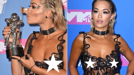 PHOTOS Rita Ora en montre BEAUCOUP TROP aux MTV Video Music Awards 2018