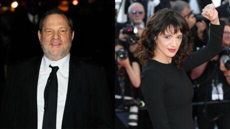 Asia Argento accusée de viol: Harvey Weinstein se sert de l'affaire pour sa défense