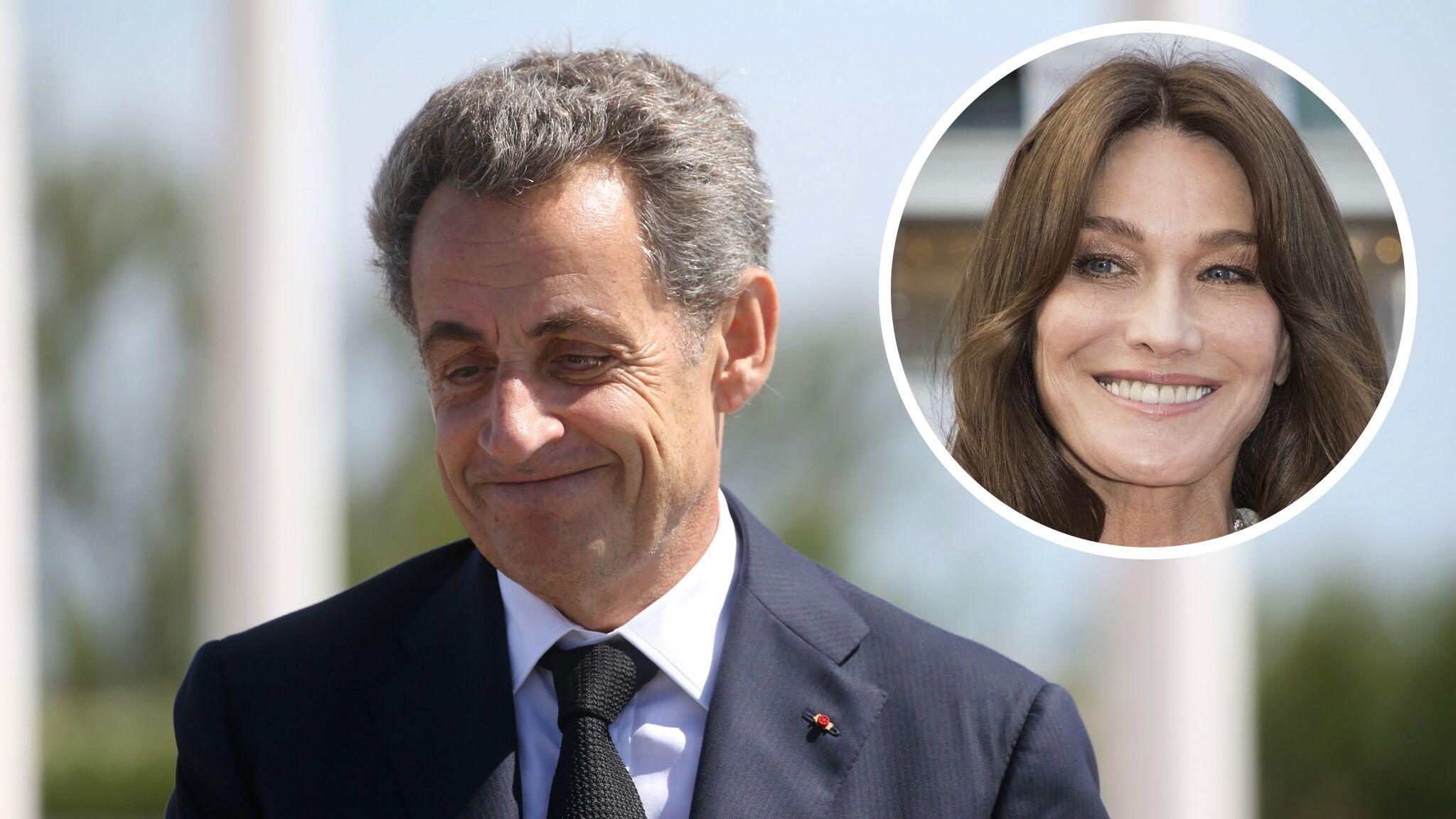 Photo Nicolas Sarkozy Completement Gaga De Sa Fille Giulia Sous Le Regard De Carla Bruni Voici