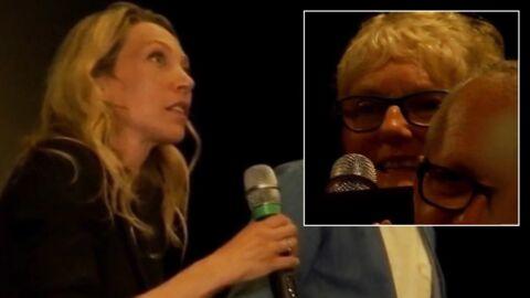 VIDEO Johnny Hallyday: L'émotion de Laura Smet lorsqu'on lui parle de son papa «si fier,  là-haut»